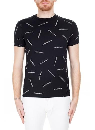 Emporio Armani  Regular Fit T Shirt Erkek T Shırt 3H1Td7 1J30Z F928 Siyah